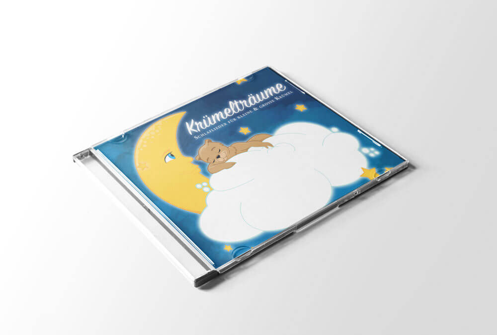 CD-Cover Illustration – Krümelträume